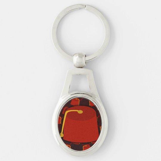 Big Fez Little Fez Keychain