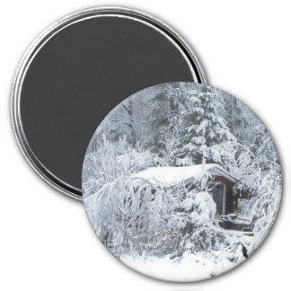 Big First SnowCountry Cottage GHS Northern Gardens Magnet