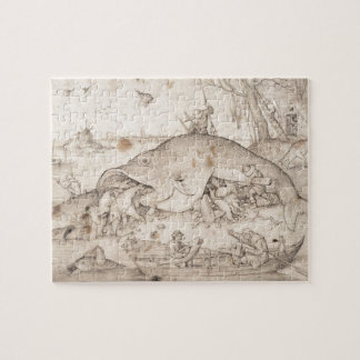 Big Fish Eat Little Fish by Pieter Bruegel Jigsaw Puzzle