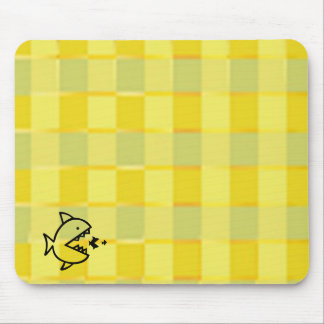 Big Fish Small Fish - Cut Throat Competition Mouse Pads
