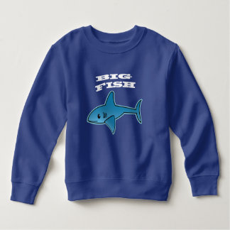 Big Fish - Toddler Fleece Sweatshirt Sweatshirt