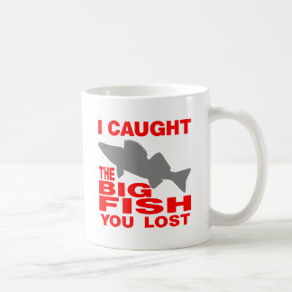 BIG FISH WALLEYE COFFEE MUG