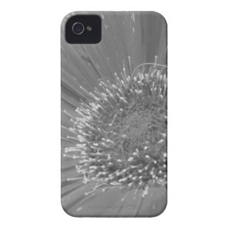 Big Flower without Color iPhone 4 Cases