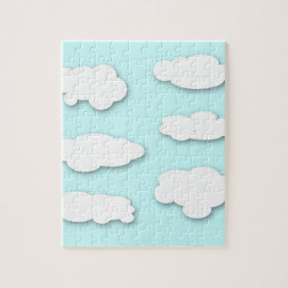 Big Fluffy Clouds Puzzle