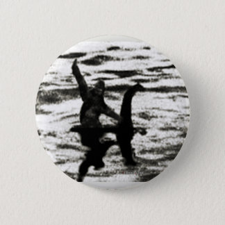 Big Foot and Bessie The lake monster sighting 2 Inch Round Button
