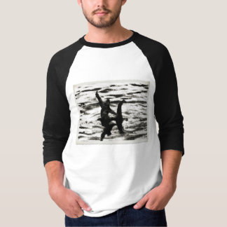 Big Foot and Bessie The lake monster sighting T-Shirt