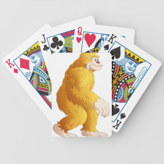 Big Foot Bicycle Playing Cards