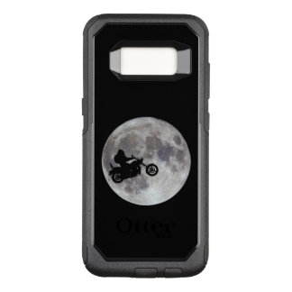 Big foot, big bike and a big bright moon OtterBox commuter samsung galaxy s8 case