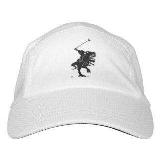 Big foot playing polo on a T-rex Hat