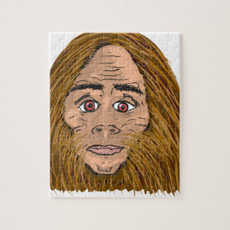 Big Foot Sketch Jigsaw Puzzle