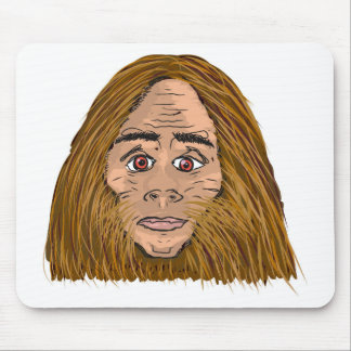 Big Foot Sketch Mouse Pad