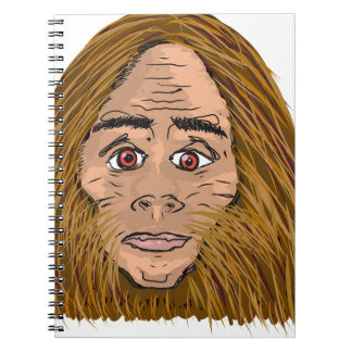 Big Foot Sketch Spiral Notebook