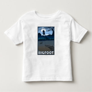 Big Foot walking through Golf Course Toddler T-shirt