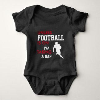 BIG Football Fan Baby Bodysuit