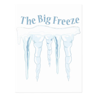 Big Freeze Postcard