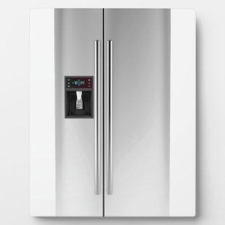 Big fridge plaque