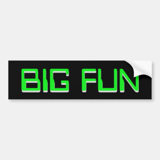 BIG FUN STICKER