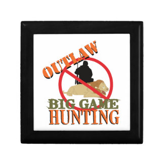 Big Game Hunting Gift Box