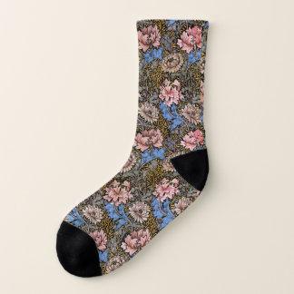 Big Garden Flower Blossoms Socks