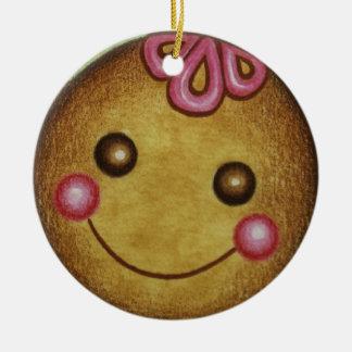 Big Gingerbread Cookie Ornament