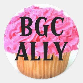 Big Girl Club Ally Round Sticker