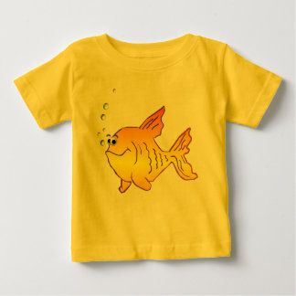 *Big Gold Fish Baby T-Shirt