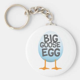 Big Goose Egg Games Basic Round Button Keychain