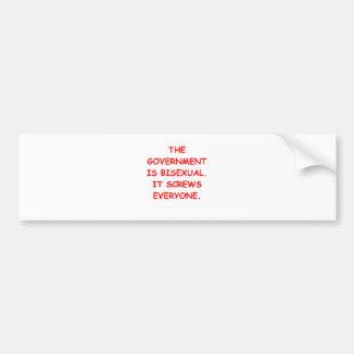 big government bumper stickers