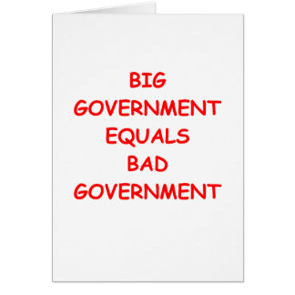 big government card