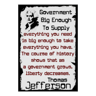 Big Government Poster