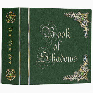 Big Green Book of Shadows Binder