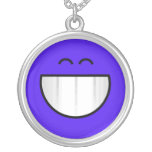 big grin happy face custom jewelry