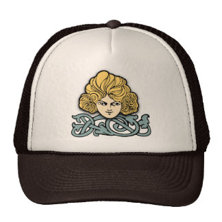 Big Hair Trucker Hat