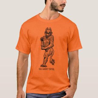 BIG HAIRY DEVIL FUNNY HALLOWEEN PRINT T-Shirt