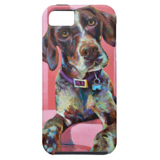 Big Hank the Short Haired Pointer Case For The iPhone 5