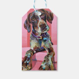 Big Hank the Short Haired Pointer Gift Tags