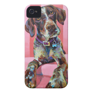 Big Hank the Short Haired Pointer iPhone 4 Case