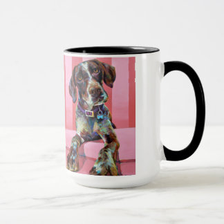 Big Hank the Short Haired Pointer Mug