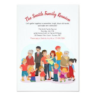 Big Happy Family Reunion Invitation