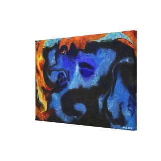 Big Head Canvas Print