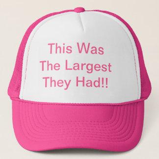 Big Head Trucker Hat