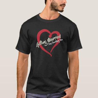 Big Heart and Text You Personalize T-Shirt