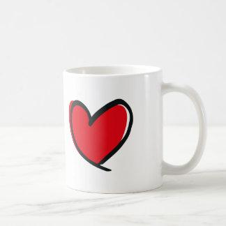 Big Heart, Big Love Coffee Mug
