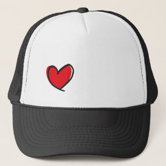 Big heart, big love trucker hat