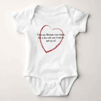 Big Heart, I love my Mommy sooo much, she is th... Baby Bodysuit