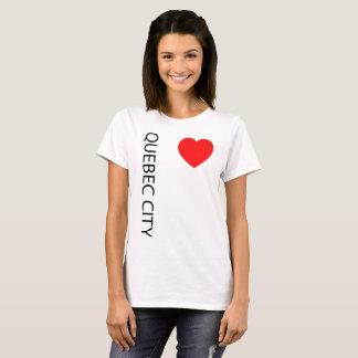 Big Heart Quebec City T-Shirt