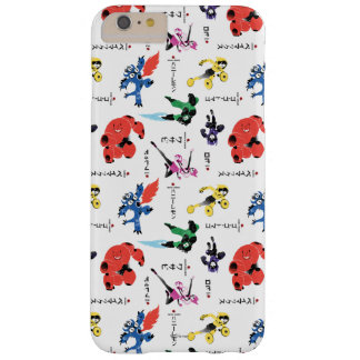 Big Hero 6 Fighting Pattern Barely There iPhone 6 Plus Case