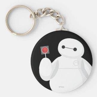 Big Hero 6 Lollipop Sign Basic Round Button Keychain