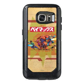 Big Hero 6 Superheros 4 OtterBox Samsung Galaxy S7 Case