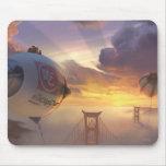 Big Hero Space Ship and Bridge Mousepads